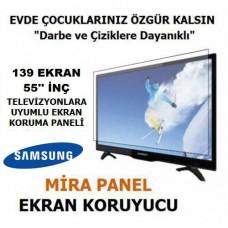 TV EKRAN KORUYUCU 140 EKRAN 55'' İNÇ SAMSUNG 55JU6570 CURVED